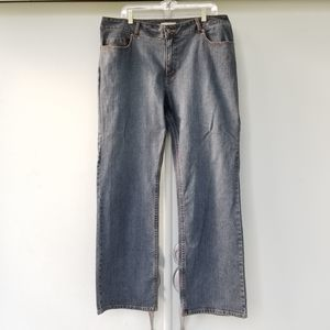 Coldwater Creek Jeans Plus 18W Straight Leg